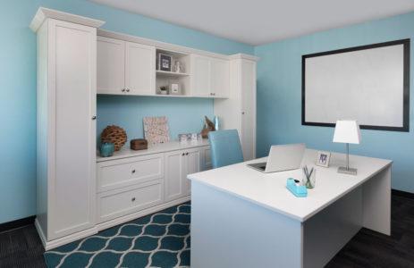 modern closet home office custom