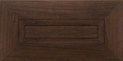 Dark wood modern cabinet doors