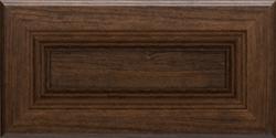 Dark wood modern kitchen cabinet doors