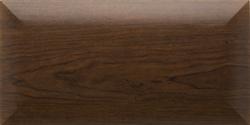 Dark wood modern closet organizer cabinet doors