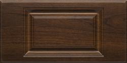 Dark wood modern mudroom organizers cabinet doors