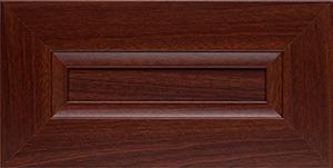 mahogany closet organizer