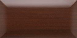 mahogany closet organizer mid century modern