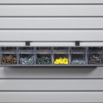 6 Tilt Bin Storage Unit FULL