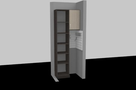 custom hallway closet