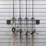 custom fishing rod storage for garage