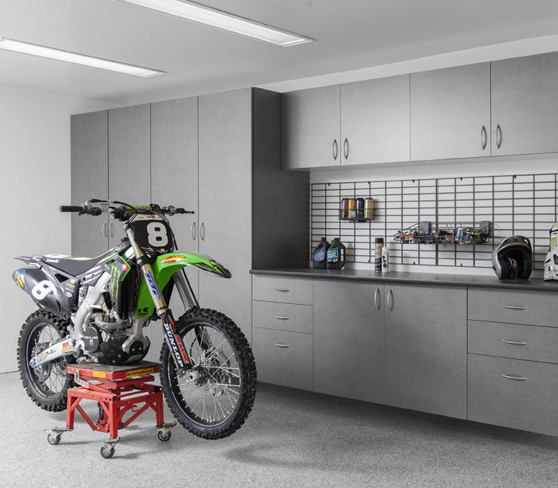 custom garage storage solutions