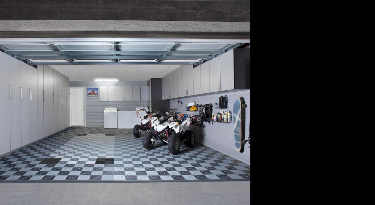 custom garage interior