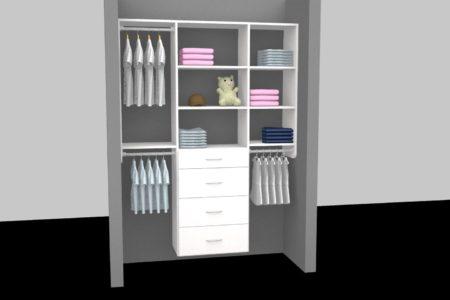 kids closet organizer