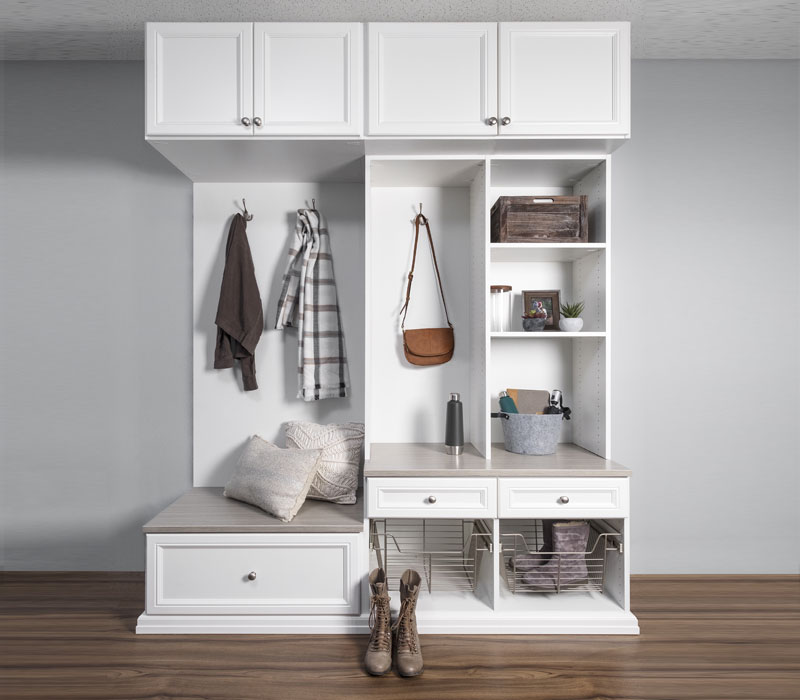 entryway storage options