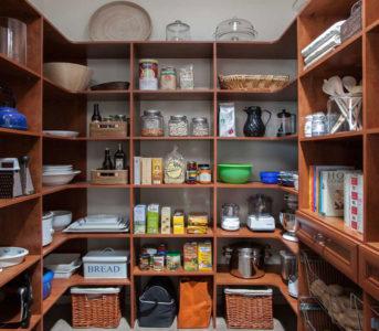 walk-in pantry