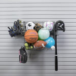 sporting goods storage garage