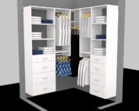custom walkin closet