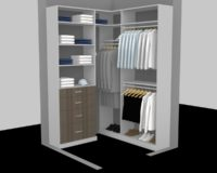 walk in closet cost