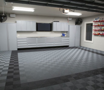 garage flooring rubber tiles