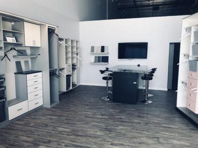 modern closet custom closet showroom